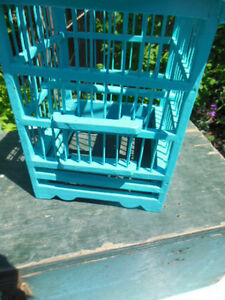 Teal bird cage London Ontario image 2