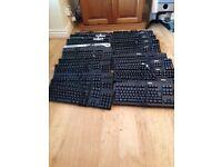 Singular keyboards