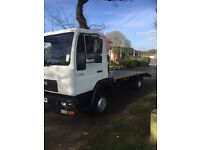Man LE 150C 7.5ton 18ft recovery truck imaculint condition