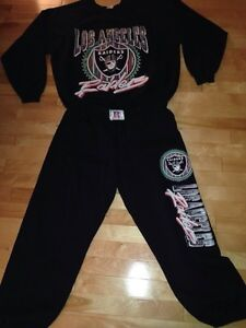 1991 nfl harley Los Angeles  raiders tracksuit