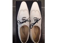 Mens white shoes from Asos