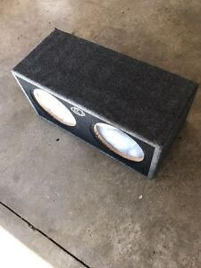 "KICKER CompS dual 12"" inch Subwoofer"