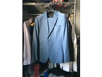Kenneth Cole Light Blue Suit - Slim fit