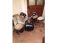 Drum kit - 5 Piece Junior Tiger