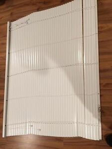 "Mini Blinds Metal, White 50.5"" x 39.5"""