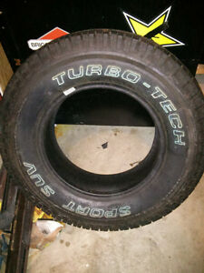 NEW steel rim with ok used tire plus a new tire off rim Cambridge Kitchener Area image 1