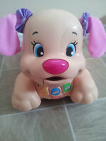FISHER PRICE Laugh & Learn Stride-to-Ride pupp