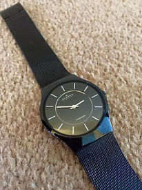 SKAGEN TITANIUM Super slim watch