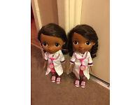 Talking/singing doc mcstuffins dolls