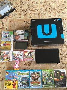 Nintendo Wii U + Nintendo 3ds brand new condition with games