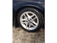 BMW allow wheels and tyres £150