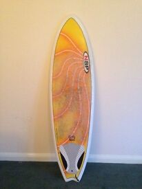 NSP 6'4 fish surfboard for sale