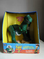 Toy Story 2 Talking Rex Room Guard Thinkway Toys NEW In Box