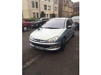 LHD Left Hand Drive Peugeot 206 HDI low mileage