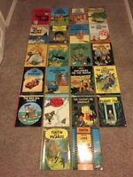 Massive Adventures of Tintin Book Collection - MINT CONDITION