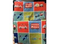 Childrens bed set and curtains