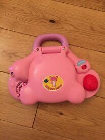 Vetch Baby Bear Laptop Pink