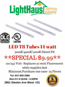 LED T8 Tubes* LED T8 replacement