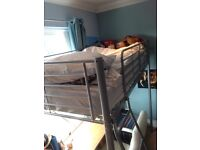 High bunk bed -single