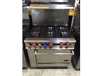 Famous DCS Commercial Cooker 6 Burners Gas Cooker Good Working Condition