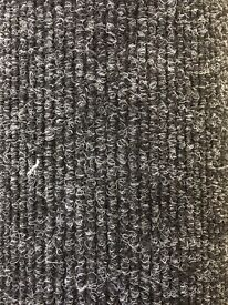 Bedford Rib Anthracite New Carpet Gb 2.40m x 4.00m Free Local delivery