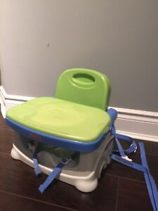 Fisher price portable/travel booster