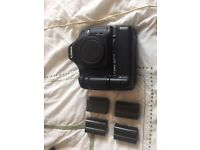 Canon 5D Mark I body with battery grip and batterys