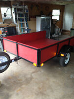 UTILITY TRAILER in very good condition