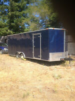 2013 Enclosed Car Trailer 22ft X 8.5ft Continental Cargo