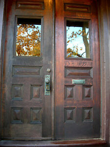 LF: an exterior door for a Victorian house Kingston Kingston Area image 1