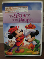Disney Animation Collection The Prince And The Pauper DVD