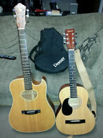 Denver DD34SL 3/4 and Apple ACW-1 Acoustic Guitars - $60 obo
