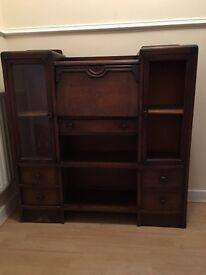 Antique mahogany Bureau