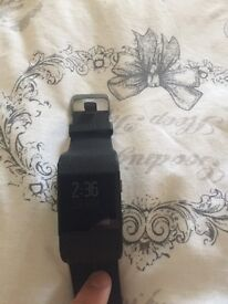 Black Fitbit surge large