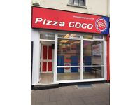 Pizza shop for sale in cheltenham with flat
