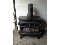Stove Woodburner Multifuel Back boiler