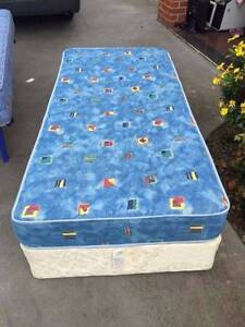 2x comfortable single size base + mattress , can delivery at extr Box Hill North Whitehorse Area Preview