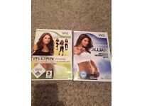 Jillian Michaels keep fit for wii console