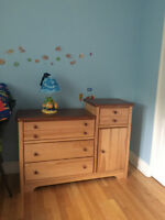 Changing Table & Chest in solid pine