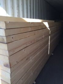 "New c24 timber 20 ft long 9""x3"""