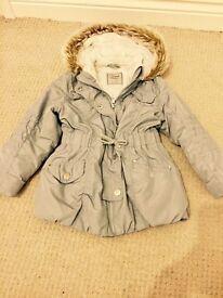 Next Girls Coat age 3-4