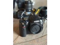 Nikon D5000 SLR with TWO lenses & accessories