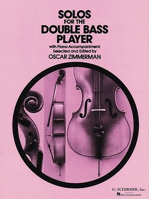 Solos for the Double-Bass Player Double Bass and Piano String Solo Boo