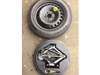 Ford mondeo space saver spare wheel and accessories