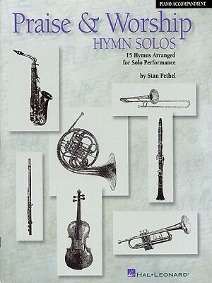 Worship Solos Trombone - Praise & Worship Hymn Solos Trombone Baritone Play-Along Pack Instrume 000841379