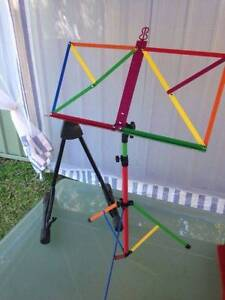 Sheet Music Stand + Guitar/Bass Stand Concord West Canada Bay Area Preview