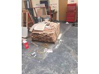 20 meters square beech flooring