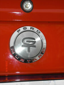 1966 Ford Mustang GT script and gas cap Kitchener / Waterloo Kitchener Area image 3