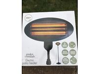 electric patio heater brand new