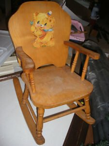 40 year old Child's Rocking Chair